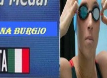 Oriana Burgio, siracusana, campionessa mondiale di nuoto stabilendo record.