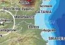 Sisma di magnitudo 2,3 nella sicilia centrale