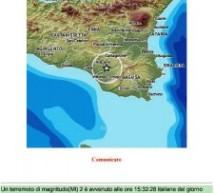 Caltagirone – Sisma mag 2 ore15,32 del7 luglio distretto Iblei (Caltagirone).