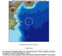 Ancora un terremoto siracusano. Questa volta nel mar Ionio, come nel dicembre 1990.