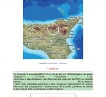Siracusa, 3 eventi sismici in mare (Patti e Milazzo) e nei Monti Nebrodi