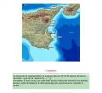 LENTINI- SISMA DI Mag 2 alle ore 8,18 del 18 ottobre 2012. Nessuno se ne accorge.