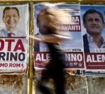 """Roma – Ha votato mezza città, però ha vinto Marino. Istan Pool  """"La7″ dicono che Alemanno si è fernato a 30,5."""