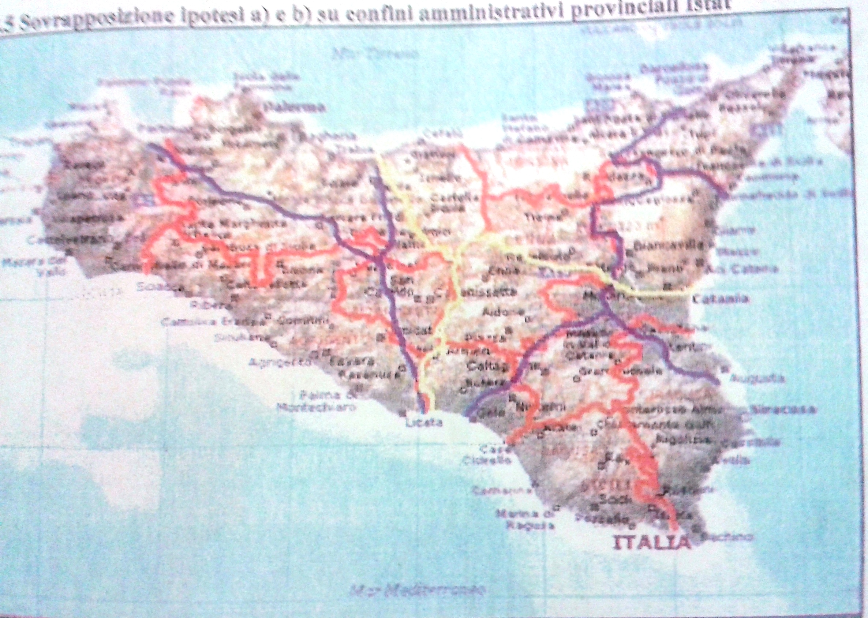 Cartina Sicilia Province.Sicilia Province 2 Quotidiano Lanota7 It