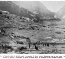 Palermo – I geologi italiani a Longarone 50 anni dopo la frana che causò 1910 morti