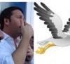 Siracusa- Renzi usa il richiamo per le cicogne e il renziano Garozzo le abbatte in volo.