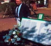 Siracusa- Ricollocata la targa commemorativa a Mario Francese vandalizzata. Il sindaco: Al giornalista dedicato l'orto botanico in costruzione.