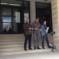 Siracusa – S'incatenano in Tribunale per comunicare con la Commissione Antimafia. Protesa di 3 consilieri di Melilli senza normale amministrazione.