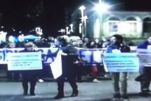Siracusa – Scoordinati contro gettonopoli, una protesta  sentita ma troppo improvvisata. Di mattina sotto il Vermexio, la sera per le strade di Ortigia.