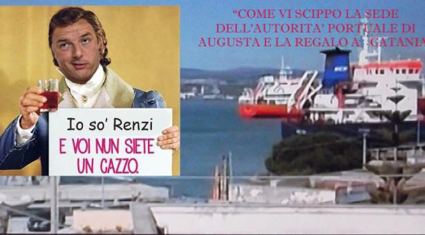 Siracusa – Avevamo ragione: La sede dell'Autorità Portuale di Augusta scippata dal governo a favore di Catania. Vinciullo annuncia una crociata.
