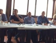 Sortino- Il Consiglio generale Ust Cisl Rg-Sr riunito a Sortino alla presenza del segretario regionale Milazzo.