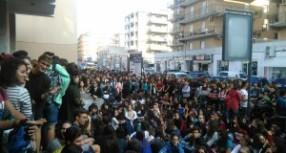 Siracusa – Studenti del Quintiliano e del Fermi pretendono scuole sicure e pertanto protestano.