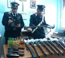 Augusta: Attività preventiva sulle armi illegali. Floridia: Due arrestati per evasione. Rosolini: Seminari dei Carabinieri con la PM.