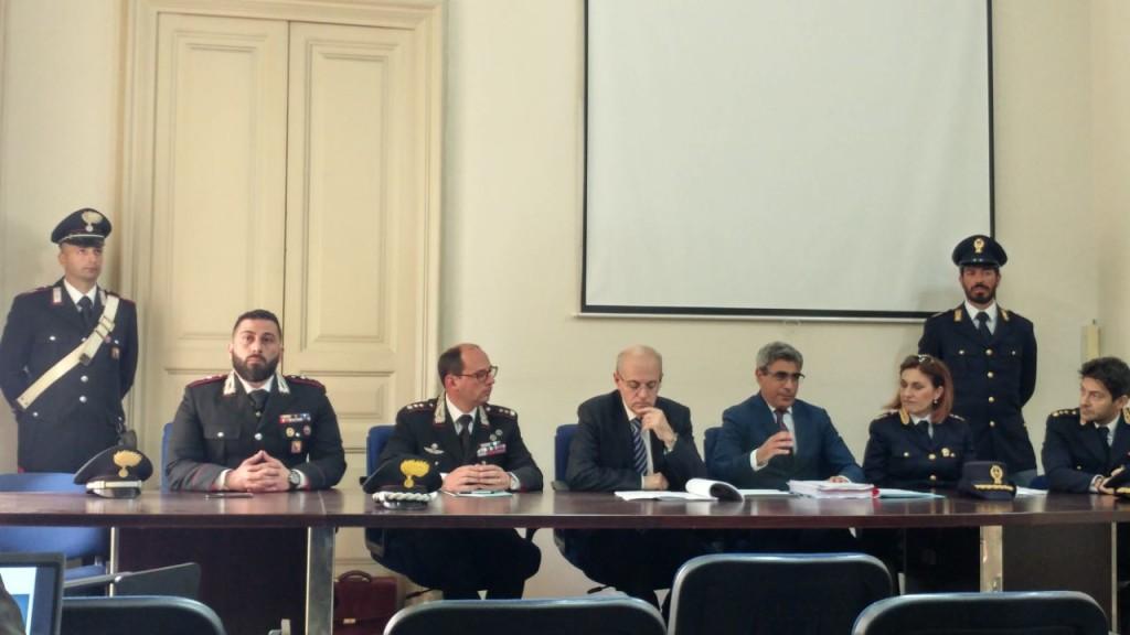 L'Operazione Aretusa presentata in conferenza stampa a Catania