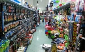 Un negozio ispezionato dalla GDF