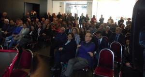 La sala che ha ascoltato  il confronto sullo sviluppo e sull'occupazione
