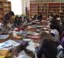 """Siracusa – Avviato il progetto """"Storie in Copertina"""": 10 classi di 3^ media degli istituti Costanzo,Wojtila,Sacro Cuore in biblioteca."""