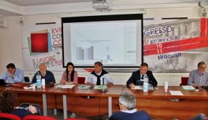 Seminario del centro studi della Cgil Un focus socio-economico sulla provincia di Sr