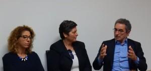 Il Presidente Adsp  Annunziata, Marina Noè presidente Assoporto, La sindaco Cettina Di Pietro