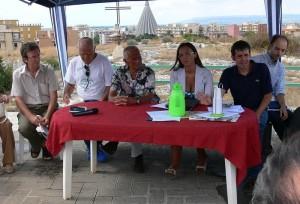 Una conferenza stampa con Enzo Maiorca
