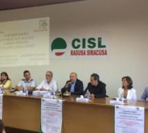 Siracusa- Seminario alla Cisl con postali e bancari sulla normativa antiriciclaggio.