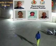 Noto: GdF e Polizia arrestano 4 del clan Trigila che tentavano di estorcere il gestore della la raccolta dei rifiuti.