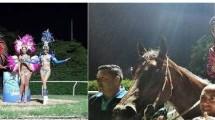 Siracusa-  All'Ippodromo si galoppa al ritmo di samba? Poveri cavalli!