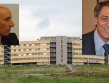 Lentini – Il DG dell'Asp, Brugaletta, si congratula per la cittadinanza onoraria ricevuta dal direttore di chirurgia Giovanni Trombatore.