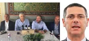 C asini in Cs  e il candidato centrista Giovanni La Via