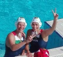 Siracusa-  12 anni dopo Aniko Pelle bissa la medaglia d'oro ai mondiali di pallanuoto di Montreal nella nazionale ungherese.