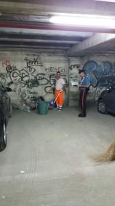 Intervento di ripulitura al parcheggio Talete