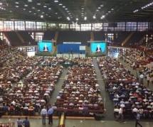 """Siracusa – In 10 mila (provenienti dalle province Sr-Ct-Rg) hanno seguito la 3 giorni congressuale dei Testimoni di Geova sul tema """"Non ti arrendere""""."""