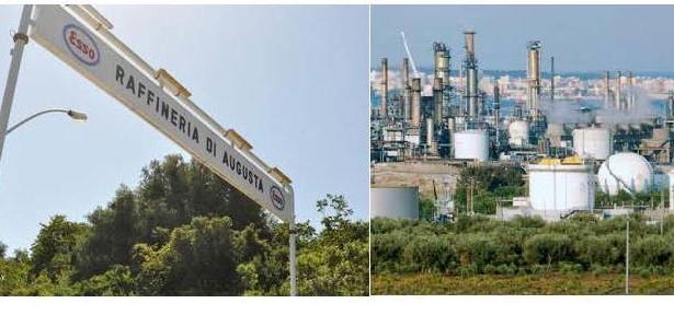 Siracusa – Dopo i sequestri delle raffinerie anche Esso dichiara alla Procura di voler adeguare gli impianti alle prescrizioni.