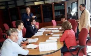 Presentazione in Tribunale della lista del PD siracusano