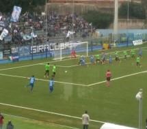 Siracusa- Al De Simone  la Virtus Francavilla incassa  sconfitta e gli azzurri esultano