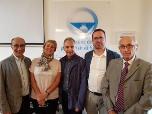il direttivo del consiglio regionale dell'ordine dei giornalisti