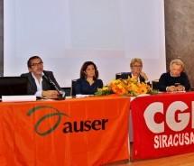 Siracusa – Si è conclusa a Noto la tre giorni Auser organizzata con la Cgil.