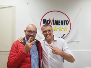 Massimiliano Fargione con Giorgio Pasqua