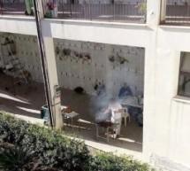 Melilli  – Una grigliata tra i loculi del cimitero di Città Giardino. Una foto virale fa scoppiare un caso di …etica.