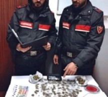 Siracusa-Spacciatore arrestato dai carabinieri. Augusta- Garage trasformato da minorenni in centro droga. Villasmundo- Arrestato per diverse evasioni.