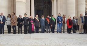 Siracusa – In piazza Duomo la festa della Polizia Municipale.