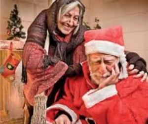 La Befana e Babbo Natale destinatari delle aspettative della Spi Cgil