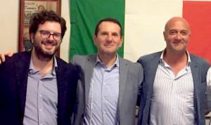 Pietro Forestiere, Sandro Pappalardo, Peppe Napoli.