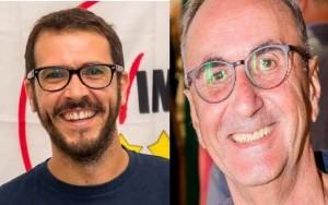I candidati M5S Pisani e Ficara