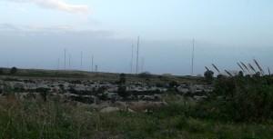 Le antenne della Marina Militare