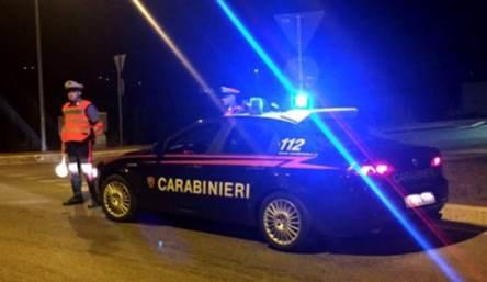 Carabinieri in controlli stradali