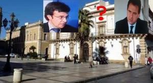 Il Palazzo Municipale l'ex sindaco estromesso Massimo Carrubba per mafia e a destra L'avv. Piero Amara