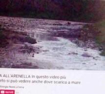 """Siracusa – Sullo versamento in mare (all'Arenella) denunciato in un video, la SIAM rigetta i sospetti: """"acque meteoriche eccedenti e non di fognatura."""