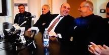 """Siracusa – Il sindaco Garozzo celebra la sconfitta dei """"poteri forti"""" in conferenza stampa. Partita vinta senza girone di ritorno!"""