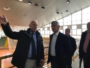 Giuseppe Marotta illustra la situazione al presidente del Credito sportivo